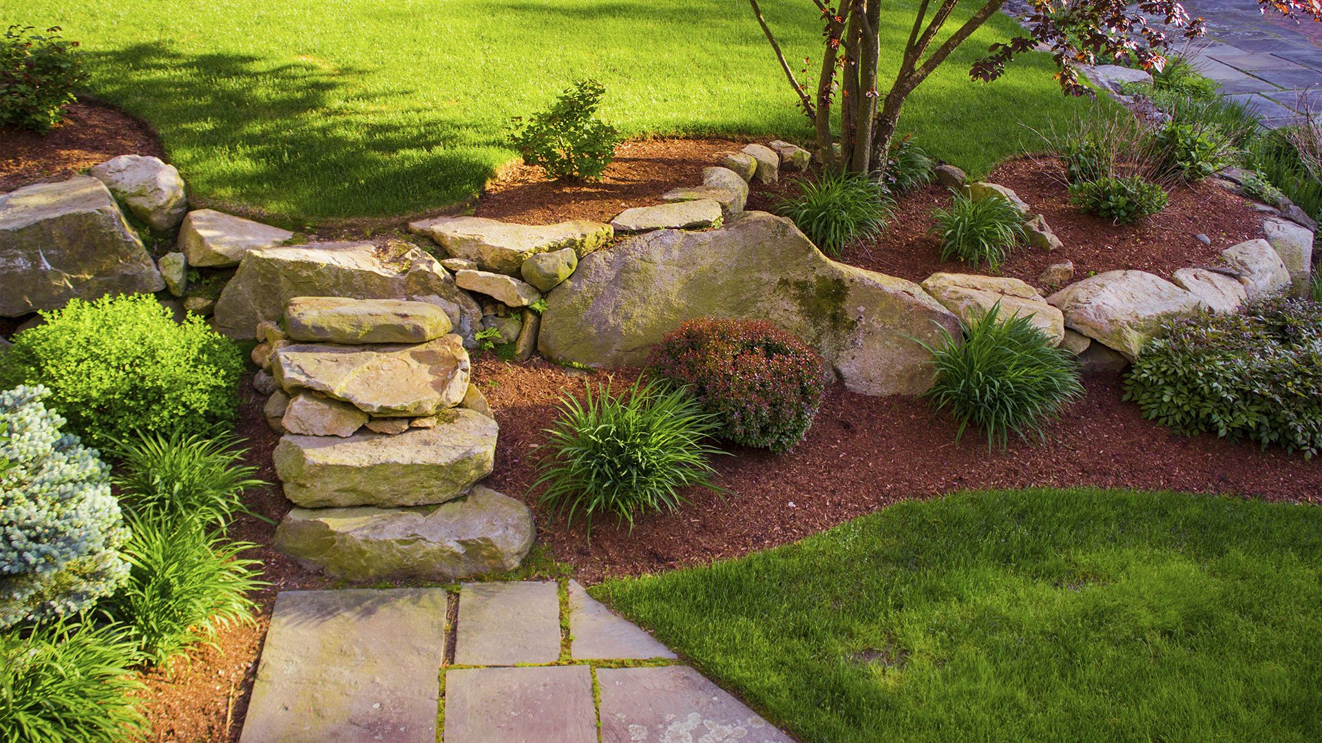 Home dieppe landscaping hardscaping and lawn care for Garden home design ltd